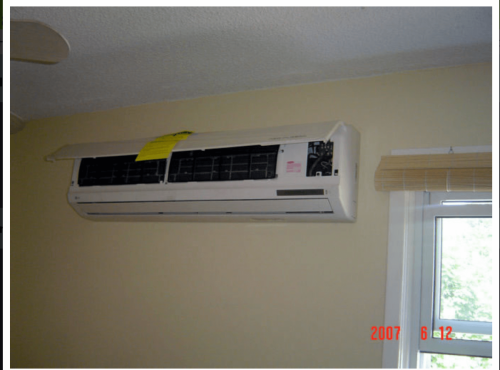 Ductless System Installation